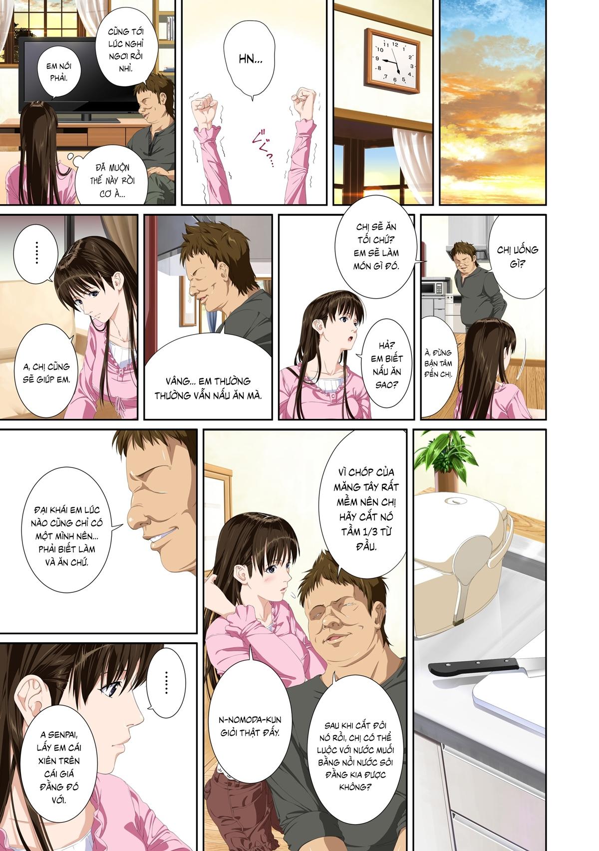 Truyện tranh sex địt em mỹ nhân trường học - Chap 2 - Truyện Hentai