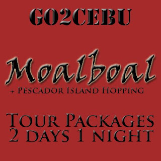 Moalboal + Pescador Island Hopping in Cebu Tour Itinerary 2 Days 1 Night Package