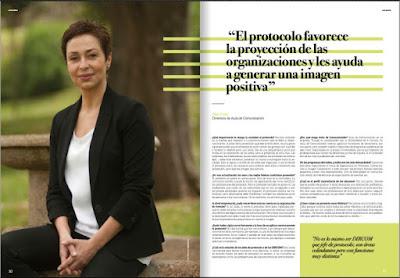 Revista Rúbrica. Cluster comunicación gráfica. Olga Casal