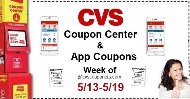 http://www.cvscouponers.com/2018/05/cvs-coupon-center-app-coupons-week-of.html