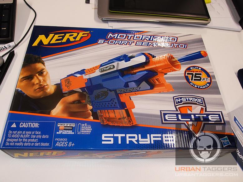 Nerf N-Strike Elite Stryfe Blaster Quick Load Semi Automatic Fires Upto 20m