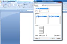 Cara Gampang Mengatur Ukuran Kertas Di Microsoft Word