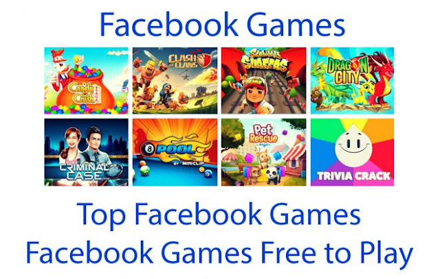 Top Facebook Games | Facebook Games Free to Play
