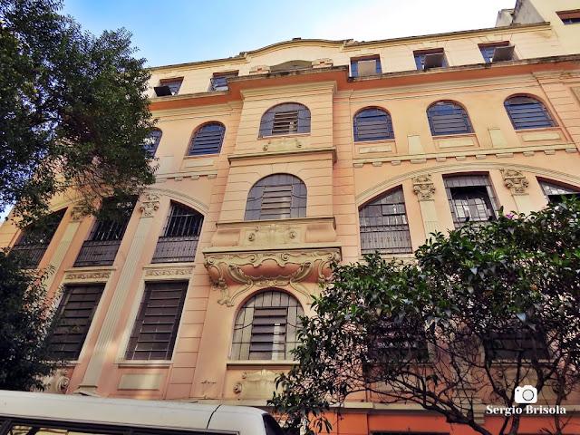 Vista da fachada da Funap - Fundação de Amparo ao Preso SP - Vila Buarque - São Paulo