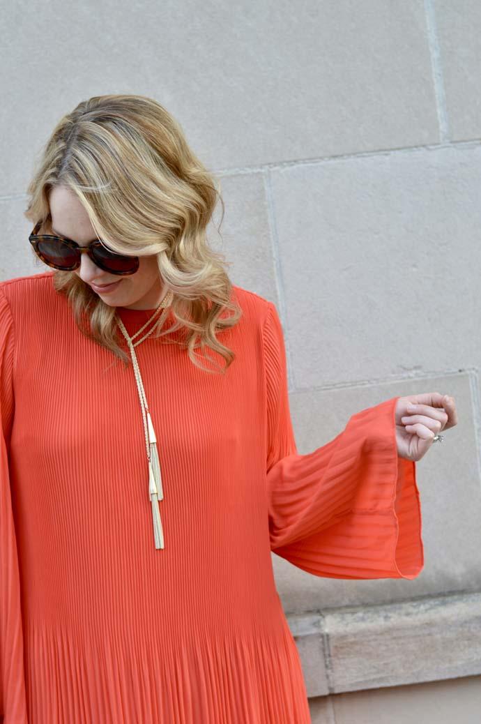 Bell Sleeve Dress @rachmccarthy7