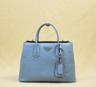 a06630508571 Prada Saffiano Leather Double Tote Bag 1BG887