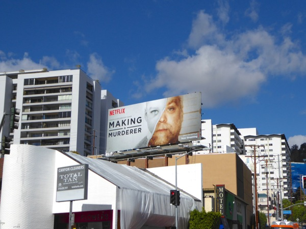 Making a Murderer TV billboard