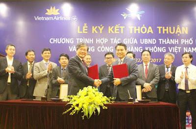 Hà Nội, Vietnam Airlines hợp tác quảng bá du lịch