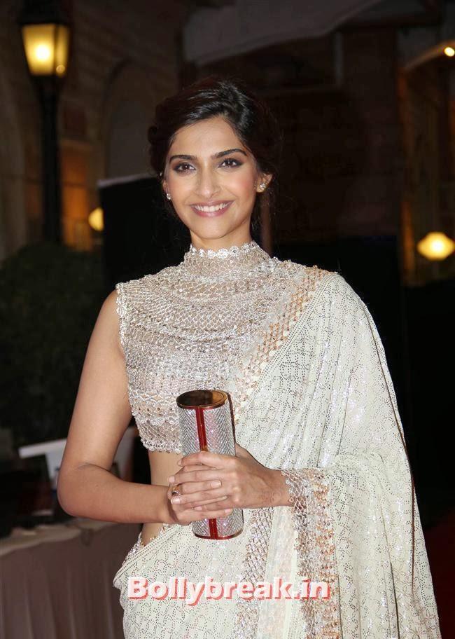 Sonam Kapoor, Ahana Deol and Vaibhav Sangeet Ceremony