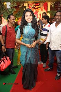Actress Anupama Parameswaran Stills in Stylish Saree at Shatamanam Bhavathi Audio Launch  0062.JPG
