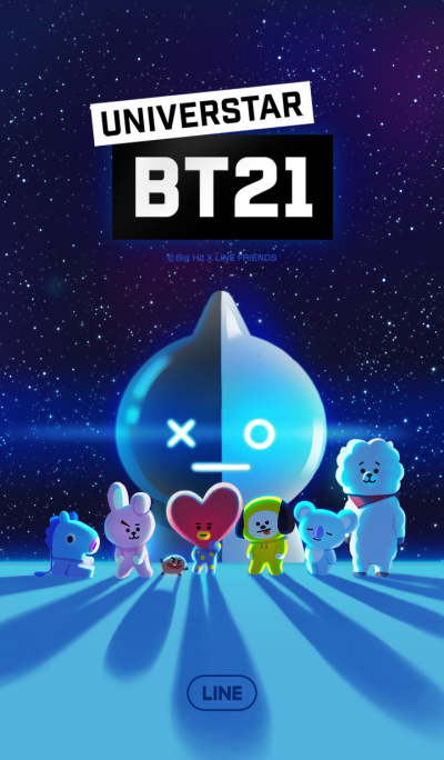 UNIVERSTAR BT21 A star is born