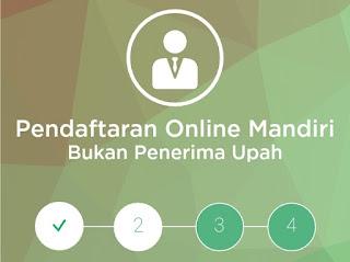 Pendaftaran online BPJS Ketenagakerjaan untuk pekerja mandiri