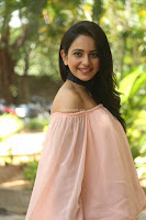 Rakul Preet Singh in lovely Pink Crop Top and Black Trousers at Jaya Janaki Nayaka success meet 043.JPG
