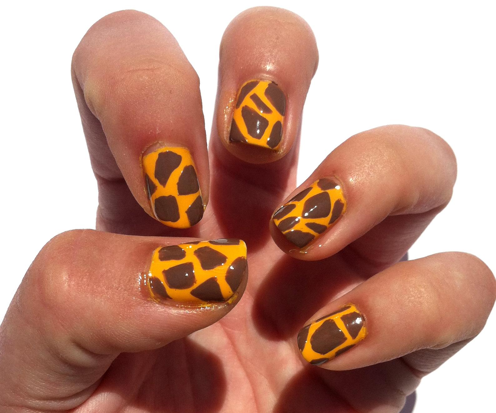 Giraffe Nail Designs | Joy Studio Design Gallery - Best Design