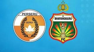 Perseru Menang 1-0 atas  Bhayangkara FC
