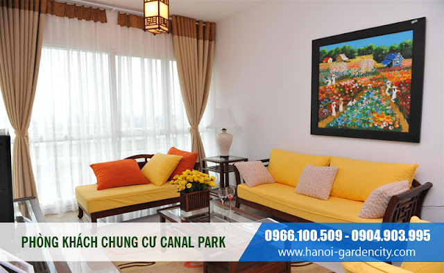 Chung cư Hà Nội Garden City, căn hộ canal park thạch bàn