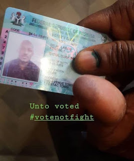 2face idibia voted