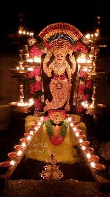 Lord Krishna in 9 Alankars - Guruvayoor Kerala
