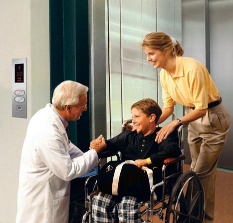 مصاعد المستشفيات - مصاعد سبيد