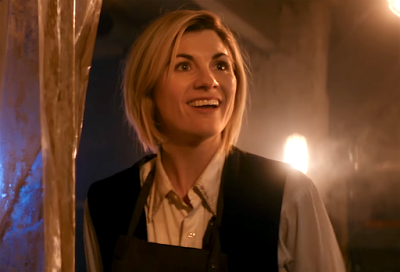Jodie Whittaker as the 13th Doctor; photo from sideshowtoy.com