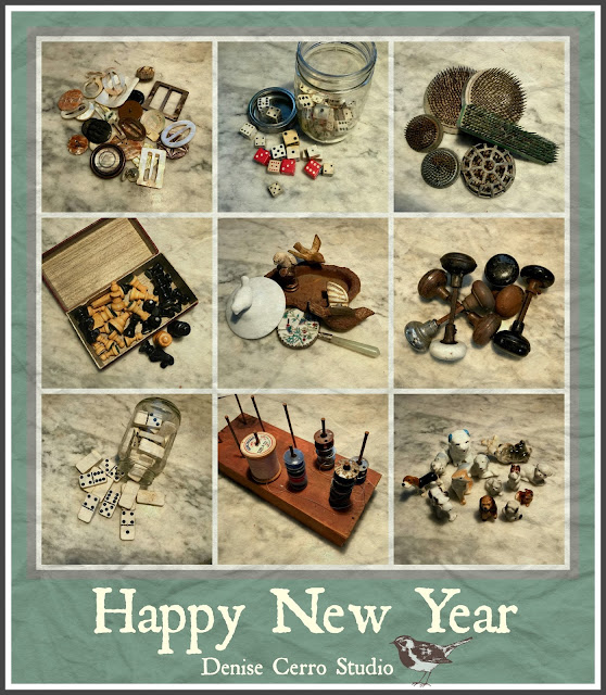 Happy New Year photo collage