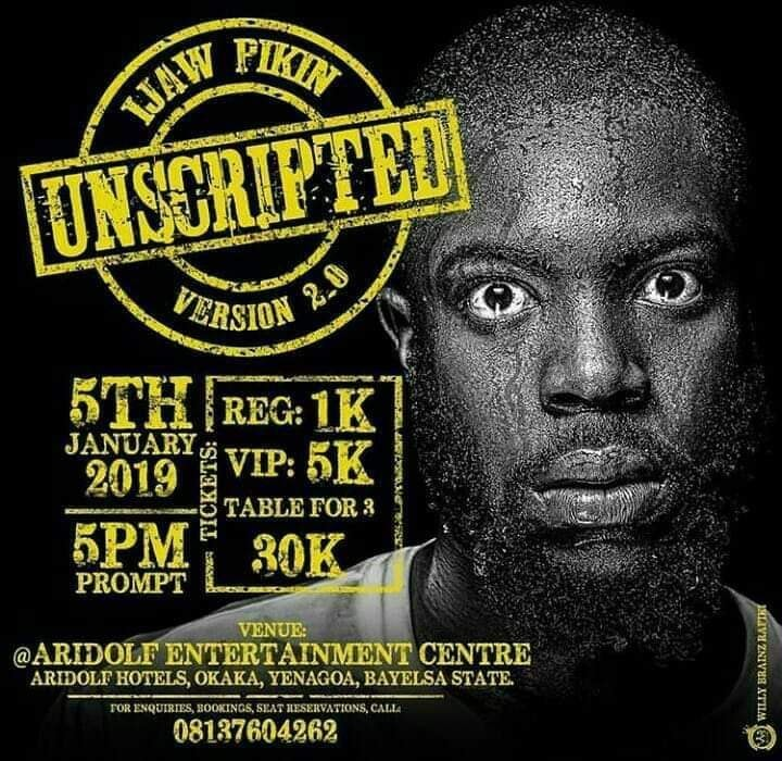 EVENT: IJAW PIKIN UNSCRIPTED VERSION 2 0