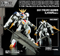 Barbatos Lupus Rex by Bandai
