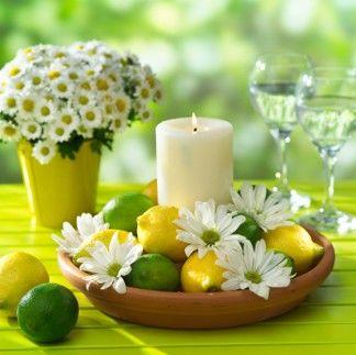 Artdecorazionianselmi centro tavola - Centro tavola con frutta ...