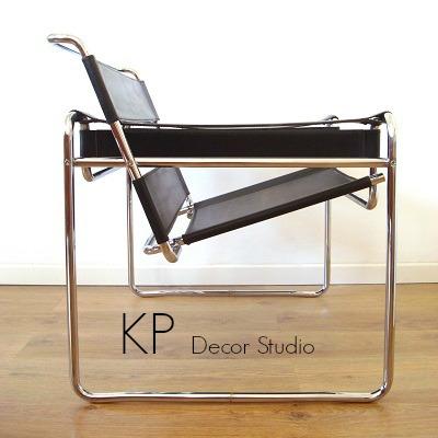 Réplicas de calidad de la silla wassily. sillas vintage, butacas y asientos grandes para decoración, salitas de estar, consultas o lofts estilo industrial