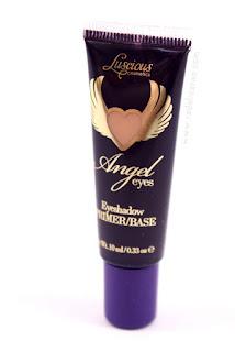 LUSCIOUS Angel Eyes Primer base, Luscious Cosmetics, Eye primer, Primer potion, Eyeshadow, Makeup, Make up, Makeup review, Beauty, Beauty blog, Eye makeup, Top Beauty Blog, red alice rao, redalicerao
