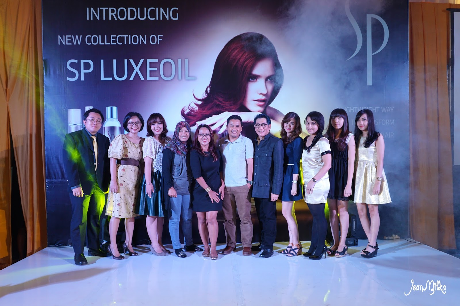 night, party, wella, launching, sp luxeoil, bumi sangkuriang, bandung