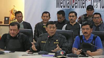 Wiranto: Pelibatan TNI Berantas Terorisme Sudah Masuk dalam UU - Info Presiden Jokowi Dan Pemerintah