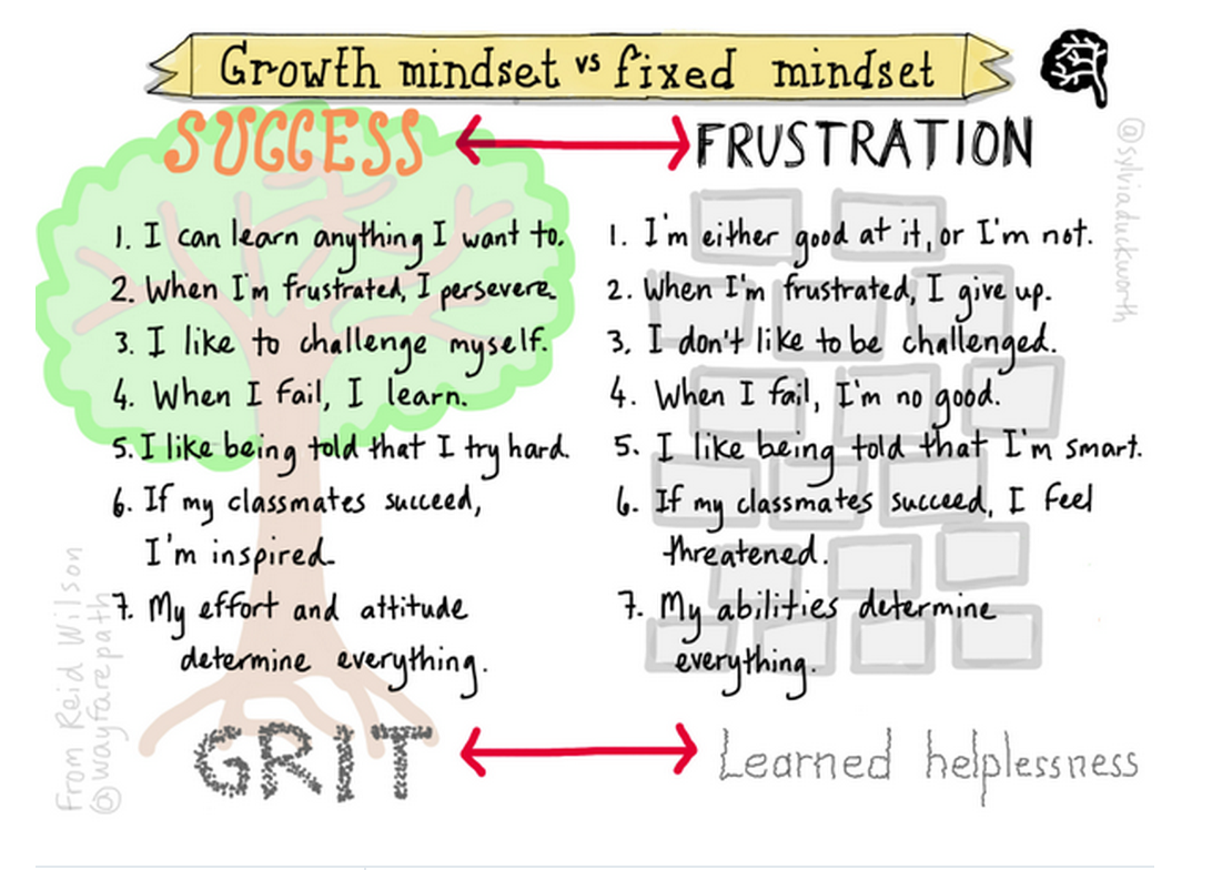 Curriculum And Instruction Blog Growth Mindset Vs Fixed