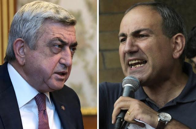 Gobierno pide diálogo y oposición pide renuncia de Serzh Sargsyan