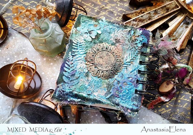 @nastyalena #mixedmedia #notebook #scrapbooking