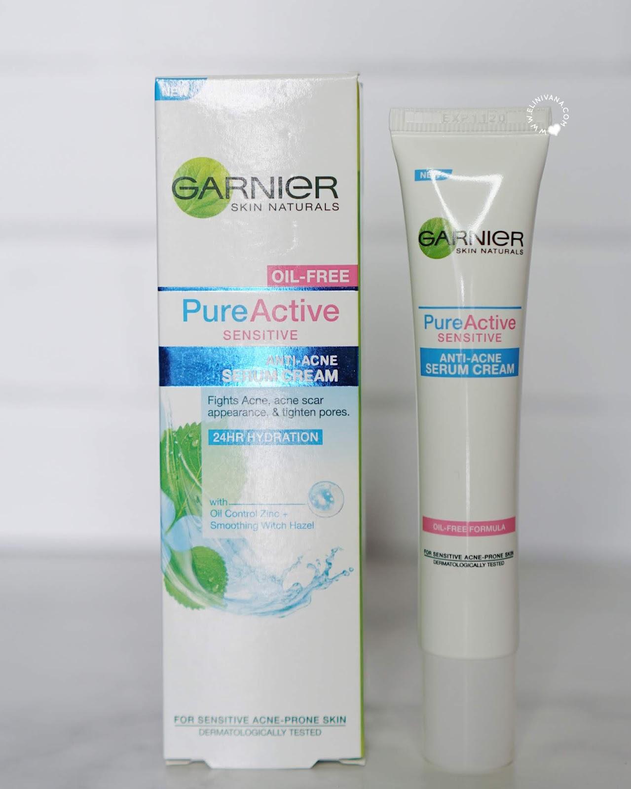 Cream Wajah Untuk Wajah Berjerawat Dan Sensitif Garnier