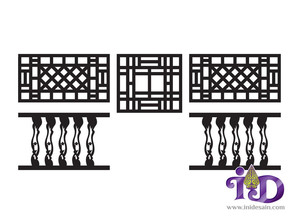Download Desain Vector Ornamen Tiongkok  Inidesain