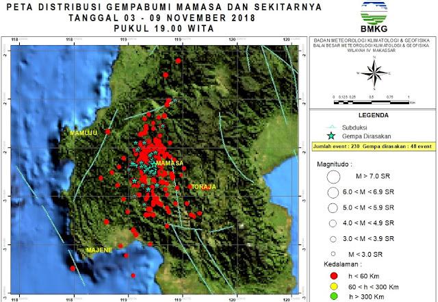 Gempa di Mamasa Tidak Akan Timbulkan Likuifaksi Tapi Longsor Pada Tebing, Tetap Waspada
