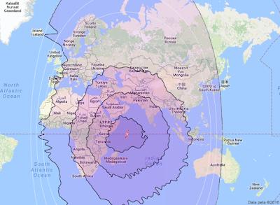 Satelit NSS 12 57.0°E CBand