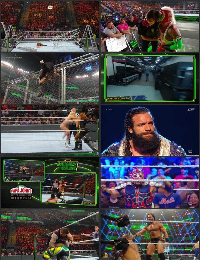 WWE Money in the Bank 2019 PPV WEBRip 720p Full Show Download HD