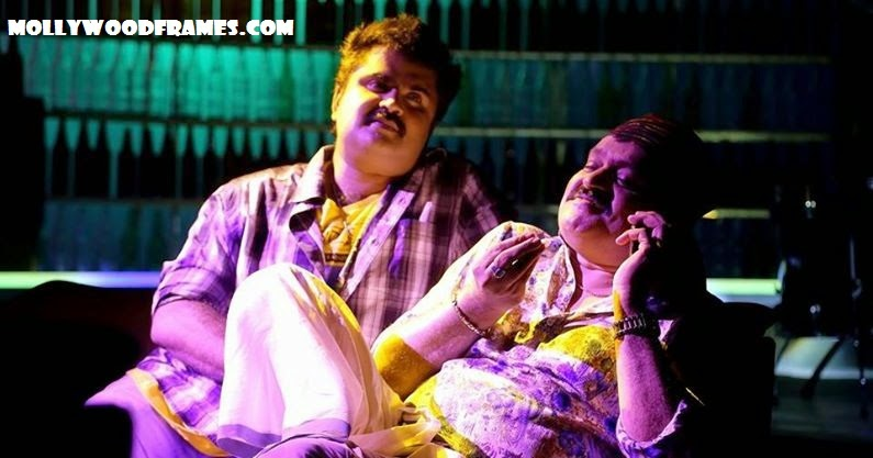 Suresh Gopi as Panayamuttom Sura in The Dolphins movie