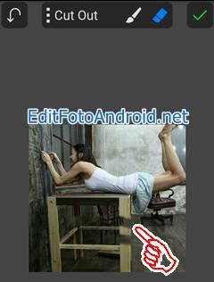 Aplikasi Edit Foto Levitasi di PicSay Pro 4