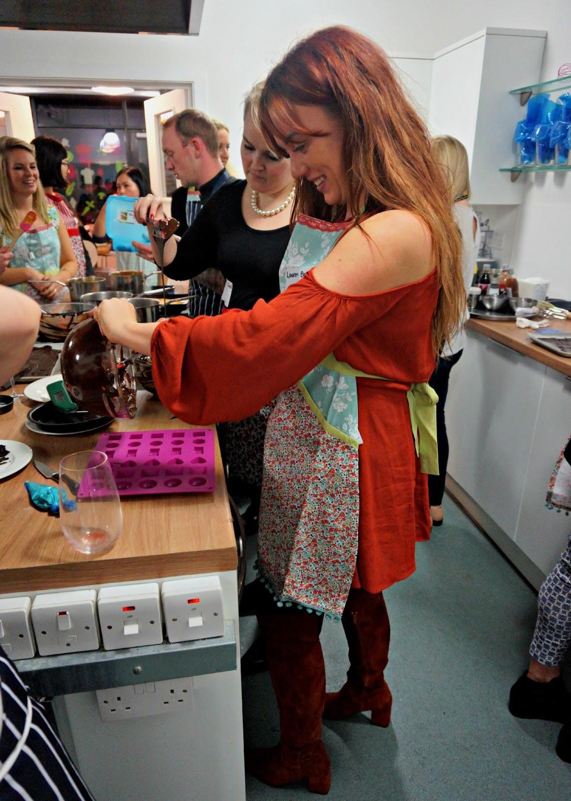 girl baking cake