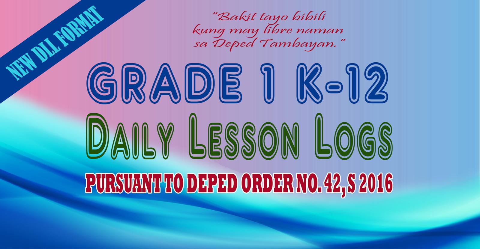 Grade 1 Daily Lesson Log Dll For 4th Quarter
