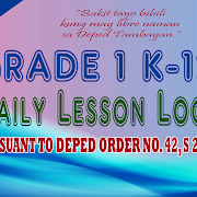 Ready Made K-12 Daily Lesson Logs for Grade 1 (New Format)