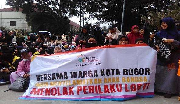 Aliansi Ormas Islam Tolak LGBT di Kota Bogor