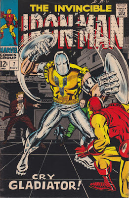 Iron Man #7, the Gladiator