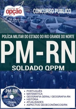 Apostila PM-RN 2018 Soldado da Polícia Militar RN