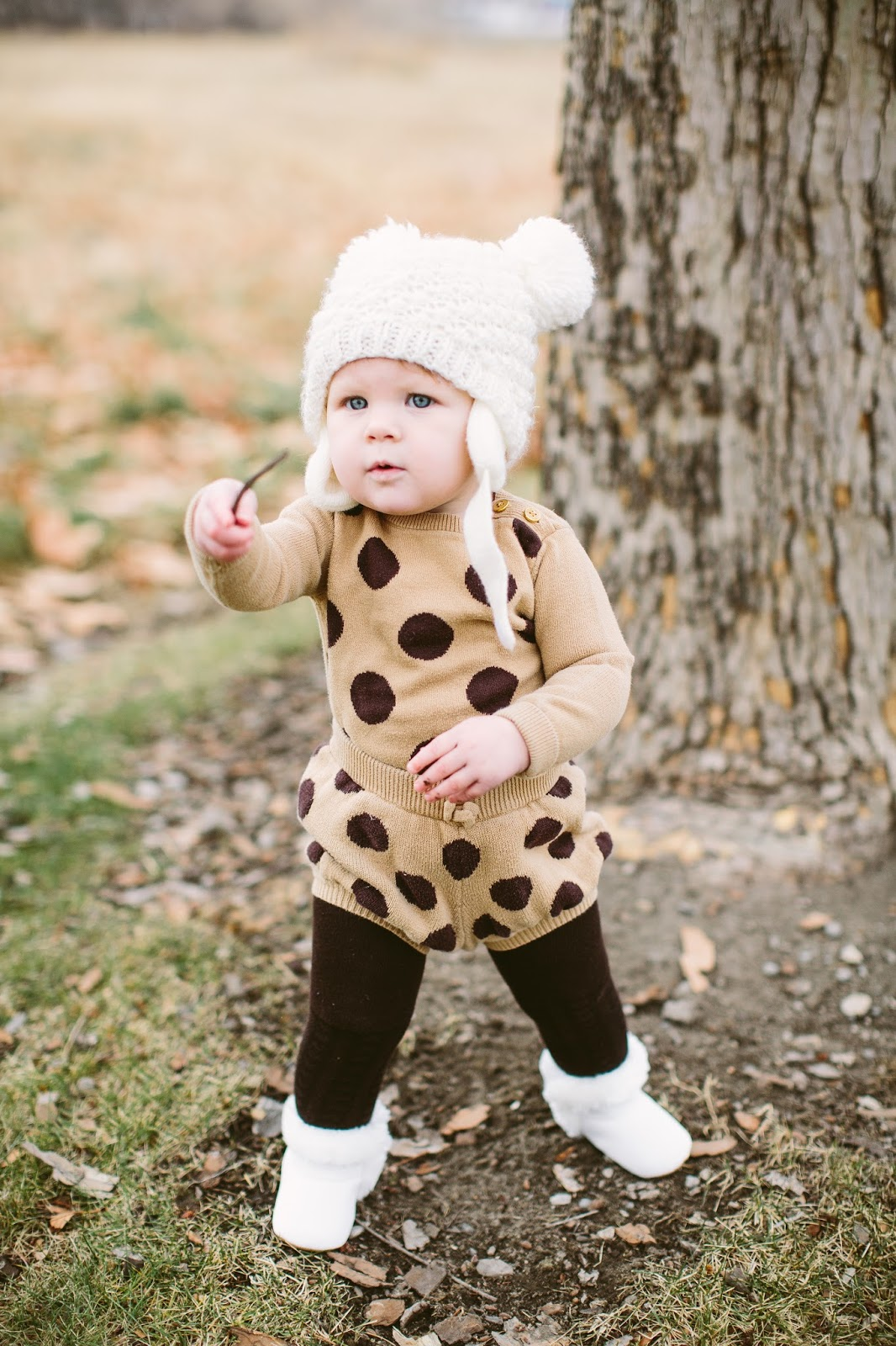 Polka Dots, Baby Style, Cute Baby Outfit