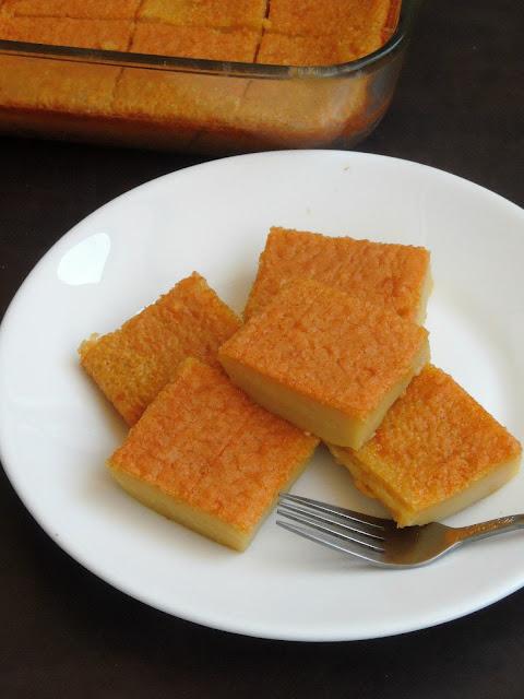 Bingka Telur, Indonesian Egg Cake